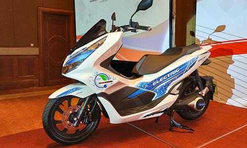 PCX Electric - Mẫu xe điện đầu tiên của Honda ở Việt Nam.