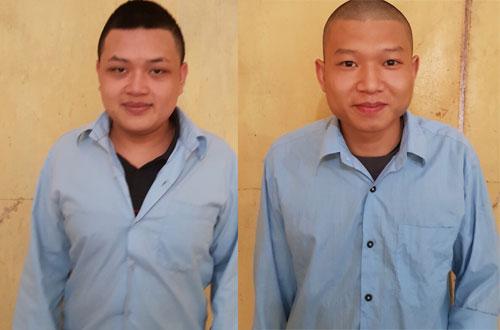 Hai thanh niên giật điện thoại tại nhiều con phố ở Hà Nội - ảnh 1