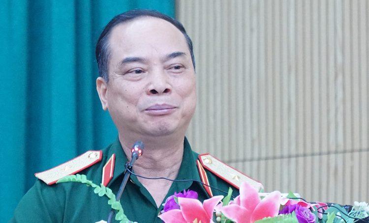 Thiếu tướngCao Đình Kiếm, Chính uỷ Bộ Tư lệnh Bảo vệ Lăng Chủ tịch Hồ Chí Minh. Ảnh: HT