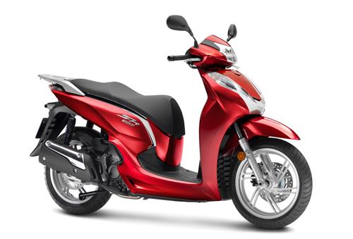 Honda SH300i mới vẫn giữ nguyên thiết kế với tùy chọn bản tiêu chuẩnvà bản thể thao.