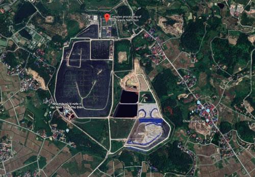 Khu vực bãi rác Nam Sơn