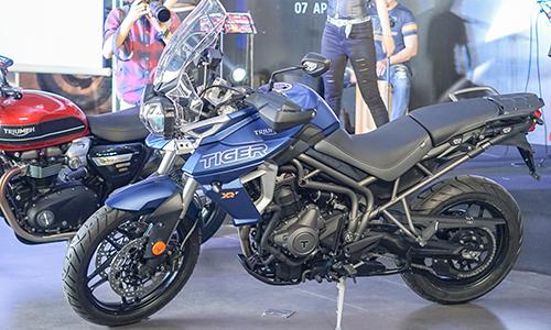 Triumph Tiger 800 2019 ra mắt tại Hà Nội, giá từ 349 triệu đồng. Ảnh:Lương Dũng.