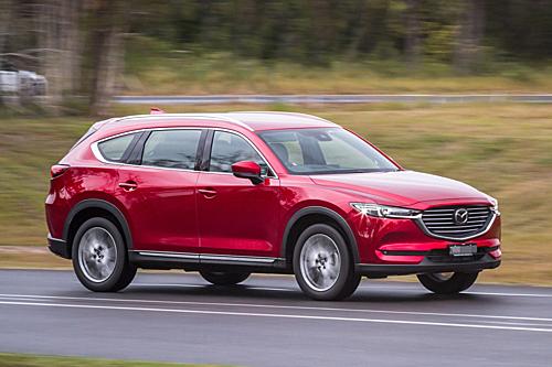 Mazda CX-8 sắp bán ra tại Việt Nam. Ảnh: Autoexpress.