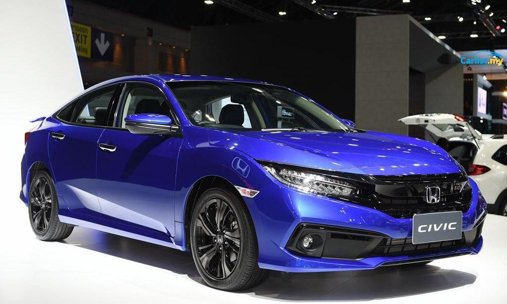 Honda Civic 2019 giá cao nhất 929 triệu tại Việt Nam