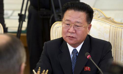 Choe Ryong-hae hồi năm 2015. Ảnh: AP.