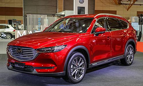 Mazda CX-8 tại triển lãm ôtô Malaysia (11-14/4/2019). Ảnh: Paultan