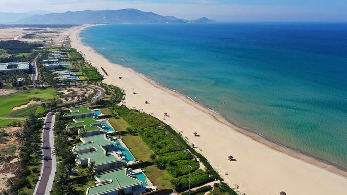 Biển Quy Nhơn nhìn từ trên cao