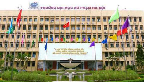 Khu giảng đường chính Đại học Sư phạm Hà Nội. Ảnh: FB/Trường Đại học Sư phạm Hà Nội
