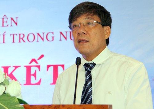 Ông Khạnh khi còn đương chức tổng giám đốc PVEP.