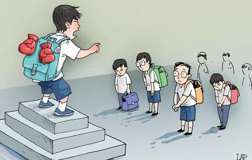 Tám biện pháp triệt tiêu bạo lực học đường