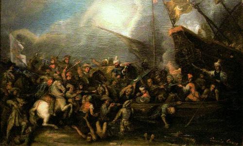 Lực lượng Ottoman trong một cuộc đổ bộ. Ảnh: War History.