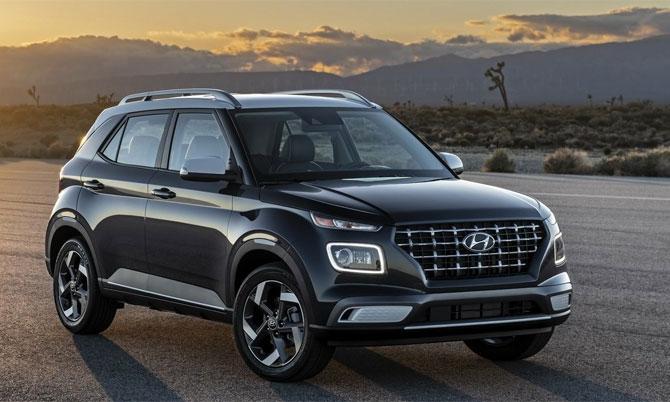Hyundai Venue 2020 trình làng