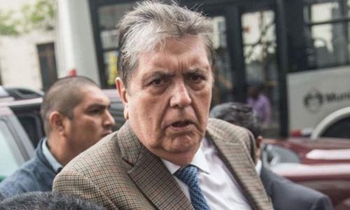Cố tổng thống Peru Alan Garcia. Ảnh: AFP.