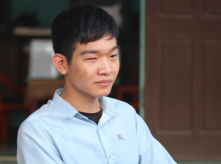 Trần Việt Hoàng. Ảnh: Đức Hùng