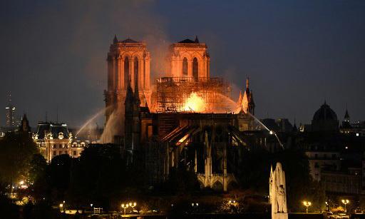 Cảm biến báo cháy của Nhà thờ Đức Bà Paris có thể hỏng trước hỏa hoạn -