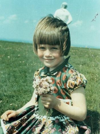 Bức ảnh Jim Templeton chụp con gái Elizabeth năm 1964. Ảnh: BBC.