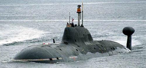 Tàu ngầm lớp Shchuka ứng dụng nhiều công nghệ tự động hóa của Lyra. Ảnh: RussianNavy.