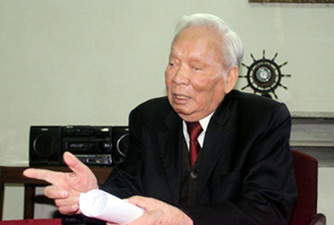 Nguyên Chủ tịch nước, Đại tướng Lê Đức Ảnh. Ảnh: VGP