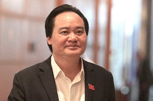 Bộ trưởng Phùng Xuân Nhạ. Ảnh: Võ Hải.