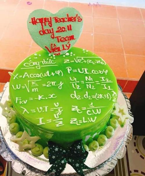 Cách lớp vật lý mừng ngày nhà giáo Việt Nam 20/11.