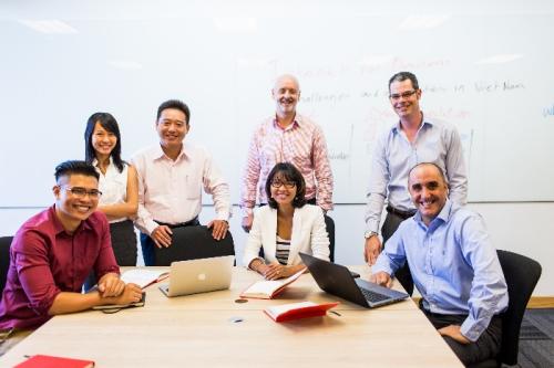 Những mối quan hệ bạn bè, đối tác giá trị từ bạn học, giảng viên là kết quả của khóa học MBA.
