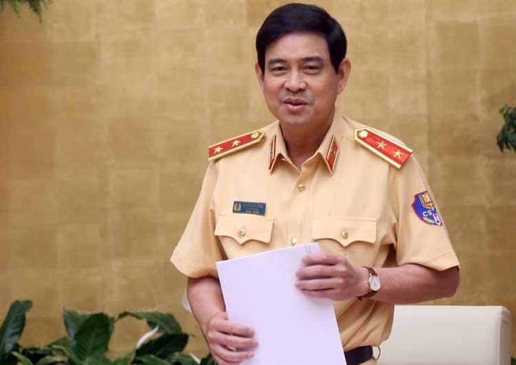 Trung tướng Vũ Đỗ Anh Dũng, Cục trưởng Cục CSGT. Ảnh: Bá Đô