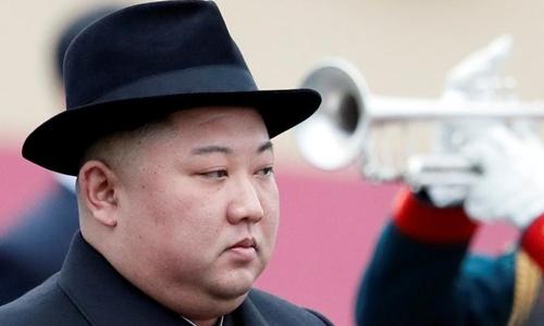 Tàu chở Kim Jong-un dừng lệch thảm đỏ khi đến ga ở Nga - ảnh 2