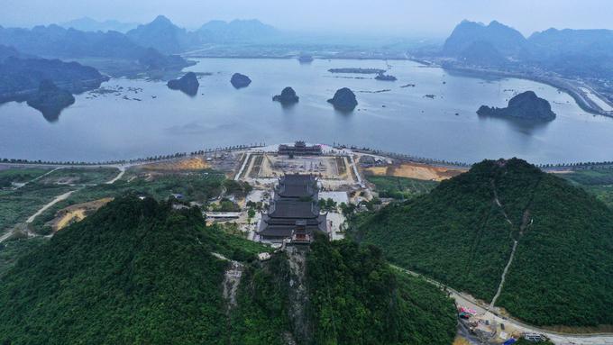Quần thể chùa hơn 5.000 ha nơi diễn ra đại lễ Phật đản