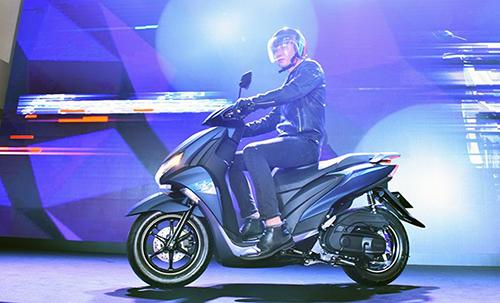 Những điểm nhấn trên xe tay ga thể thao Yamaha FreeGo