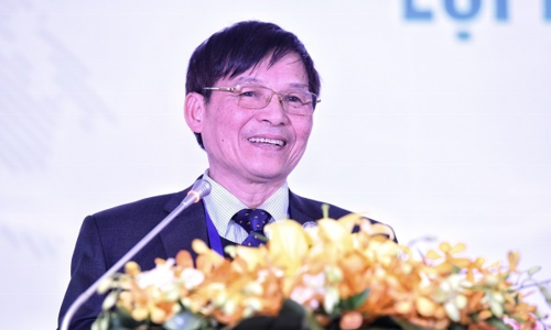 Ông Trương Văn Cẩm - Phó Chủ tịch Hiệp hội Dệp May Việt Nam. Ảnh: Giang Huy
