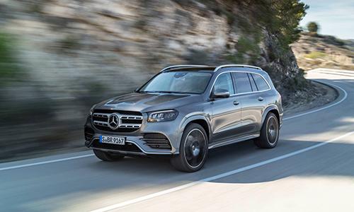 Mercedes GLS 2020 chỉ có lựa chọn động cơ diesel tại châu Âu. Ảnh: Carscoops