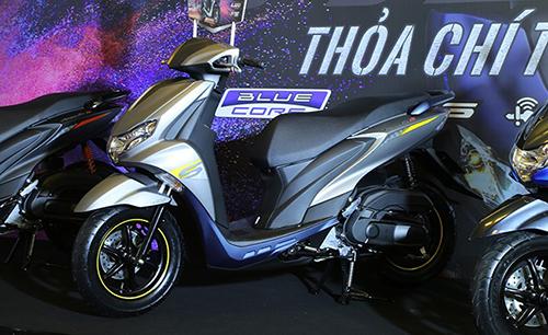 Những điểm nhấn trên xe tay ga thể thao Yamaha FreeGo - 3