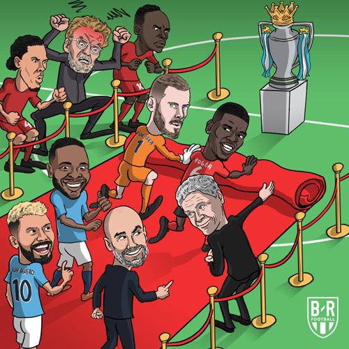 Man đỏ chủ động mời Man xanh đến chức vô địch.