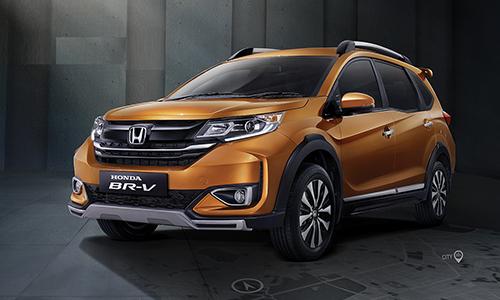 Honda BR-V 2019 nâng cấp tại Indonesia. Ảnh: Paultans