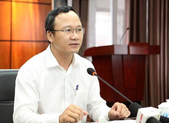 Ông Khuất Việt Hùng, Phó chủ tịch chuyên trách Ủy ban An toàn giao thông quốc gia. Ảnh: Anh Duy