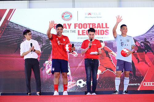 Audi đưa huyền thoại của FC Bayern đến Việt Nam