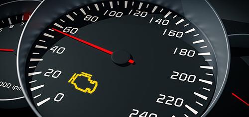 Đèn báo kiểm tra động cơ có thể sáng lên vì nhiều nguyên nhân không quá nghiêm trọng. Ảnh: Whichcar