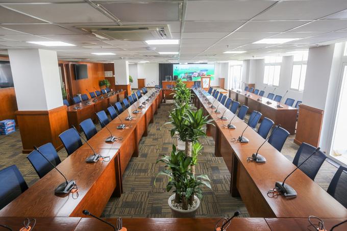 Bên trong trung tâm báo chí đầu tiên tại TP HCM