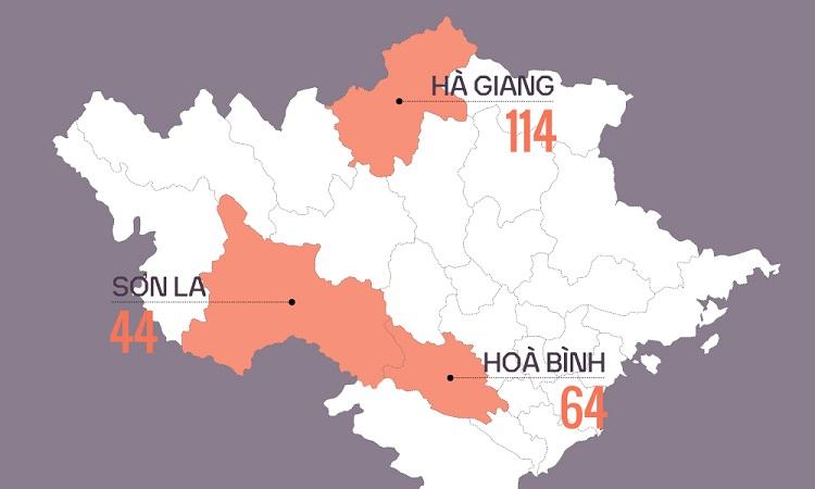 114 thí sinh ở Hòa Bình, Sơn La, Hà Giang đã được nâng điểm thi THPT quốc gia 2018.