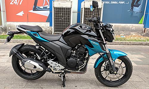 Yamaha FZ25 giá tham khảo 85 triệu tại một cửa hàng tư nhân thuộc quận Tân Phú, TP HCM.