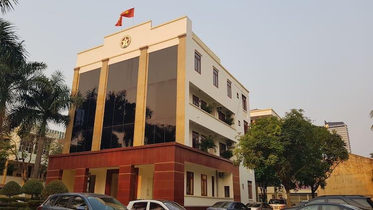 Trụ sở thanh tra tỉnh Thanh Hoá đã bị khám xét. Ảnh: Lê Hoàng
