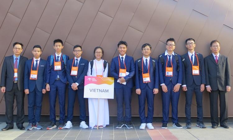 Việt Nam giành bảy huy chương Olympic Vật lý châu Á