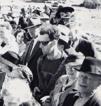Bức ảnh chụp tại Gold Bridge, British Columbia, Canada năm 1941. Ảnh: Virtual Museum.