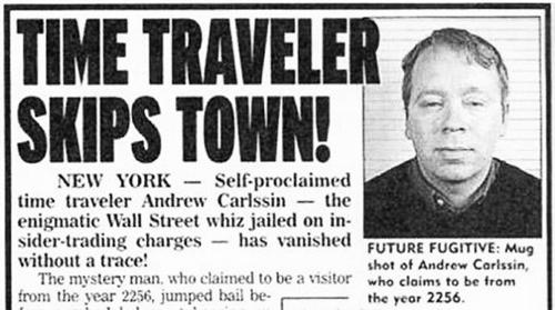 Bài báo viết về Andrew Carlssin năm 2003. Ảnh: thechive.