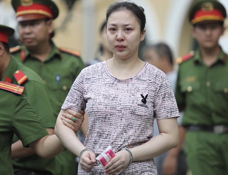 Bị cáo Lê Hương Giang bị đề nghị án tử hình. Ảnh: Thành Nguyễn.