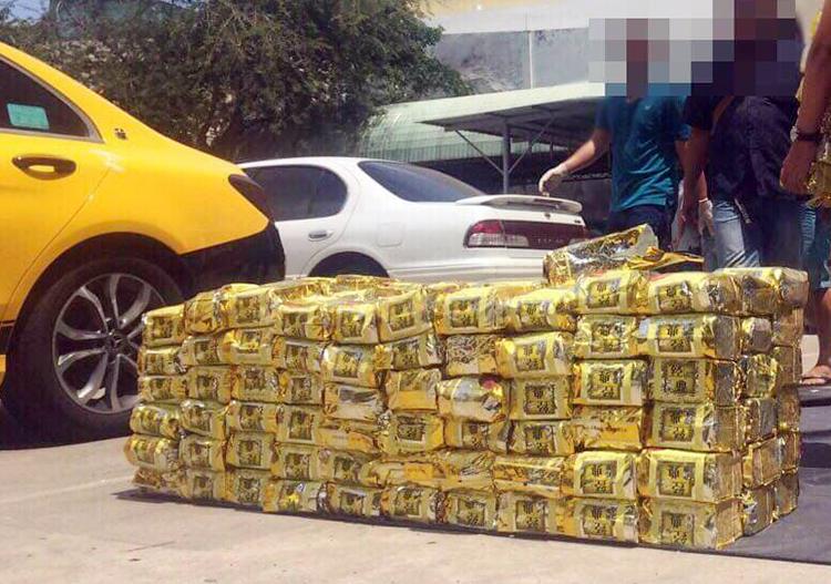 1,1 tấn ma tuý đá bị bắt tại trung tâm TP HCM. Ảnh: Công an cung cấp.