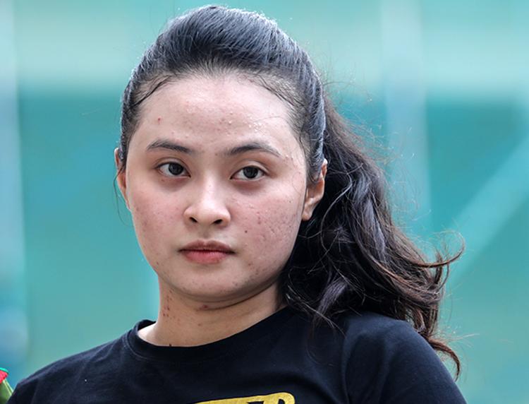 Ngọc Miu bị đề nghị 20 năm tù. Ảnh: Thành Nguyễn.