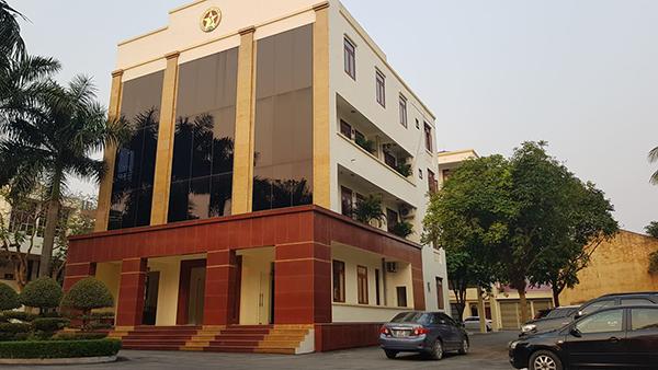 Trụ sở Thanh tra tỉnh Thanh Hoá, nơi có 5 cán bộ bị bắt vì tình nghi nhận hối lộ. Ảnh: Lê Hoàng.