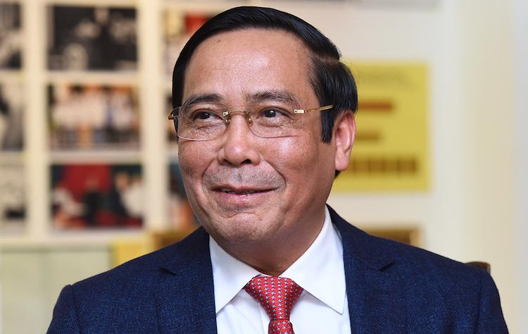 Phó ban Thường trực Ban Tổ chức Trung ương Nguyễn Thanh Bình. Ảnh: Giang Huy