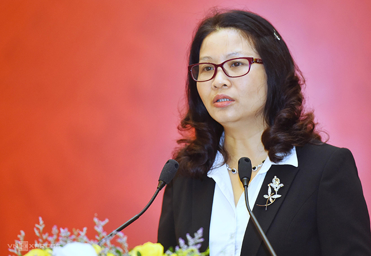 PGS Nguyễn Thị Lan kiến nghị hỗ trợ các trung tâm ươm tạo khởi nghiệp nông nghiệp. Ảnh: Giang Huy.